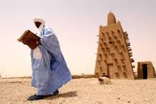 Timbuktu_toit de la mosquée Djingareyber